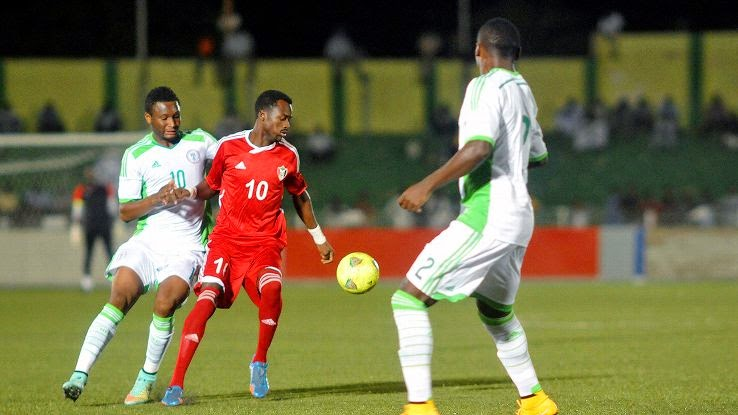 Sudan defeats Nigeria in African Nations Cup qualifying