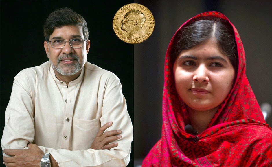 Nobel Peace Prize 2014: Pakistani Malala Yousafzai, Indian Kailash Satyarthi honored for fighting for children's rights