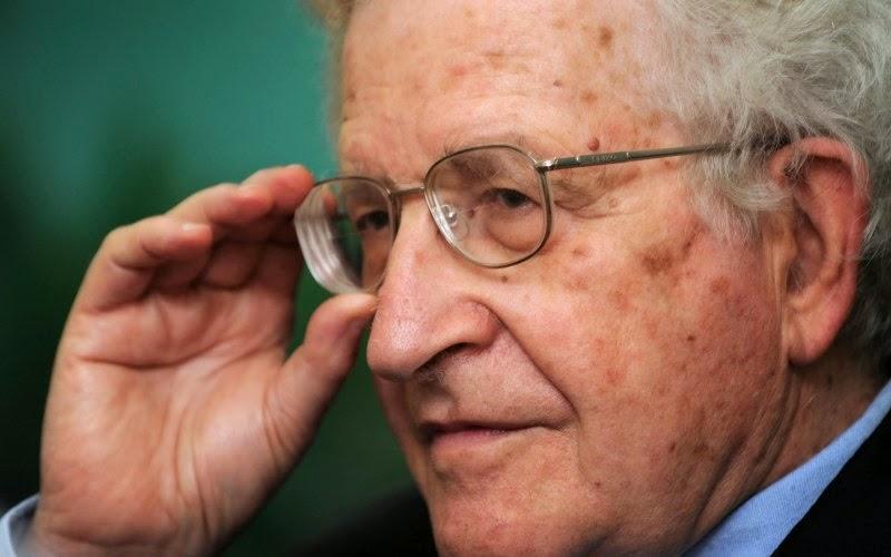 Noam Chomsky—infuriating and necessary
