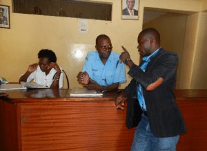 Kenyan journalist covering police detained, harassed