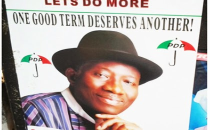 President Jonathan declares for 2015 election
