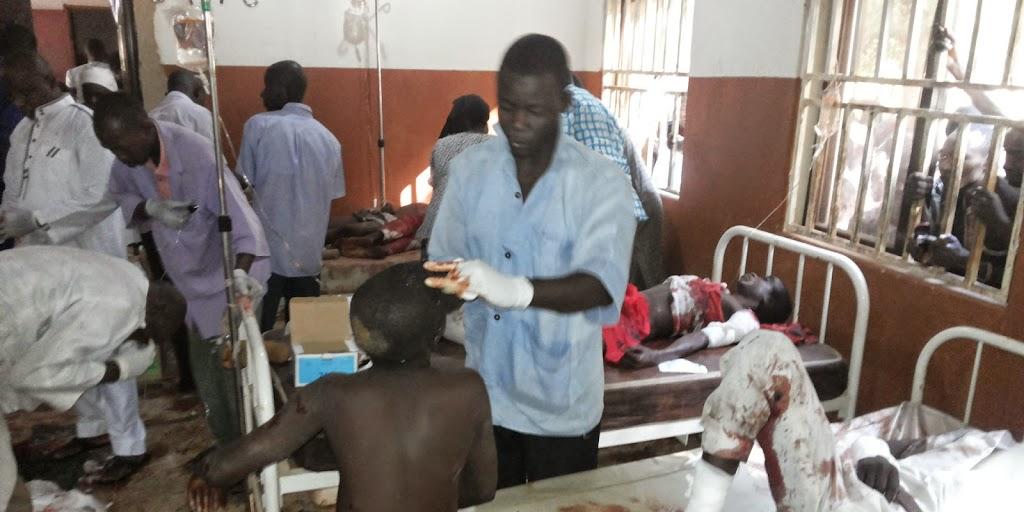 Dozens dead in Nigeria school bombing attack