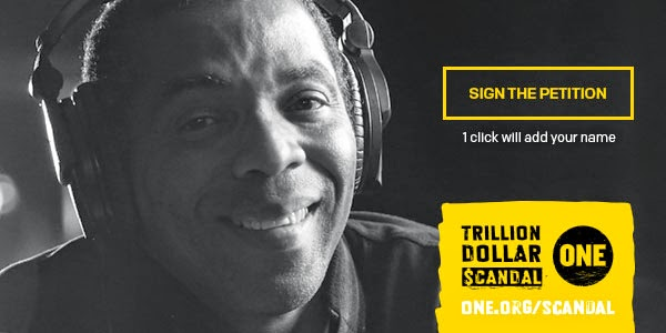 Femi Kuti, musician and ONE member petitions G20 leaders to 'end the trillion dollar scandal' #EndTDS
