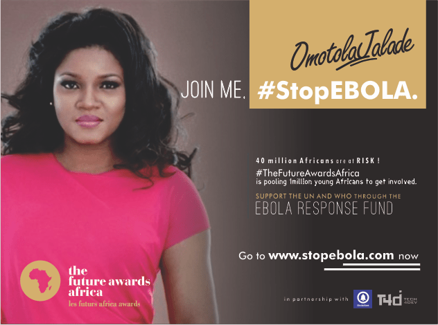 Omotola, Genevieve, Asa, lead The Future Awards Africa campaign to #StopEbola