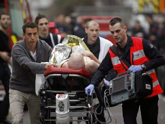 'Terror attack' at French satirical magazine leaves 12 dead