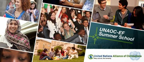 The UNAOC-EF Summer School: Youth for positive social change‏ (Call for applications)