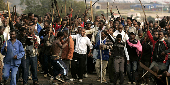 Xenophobia or Afrophobia