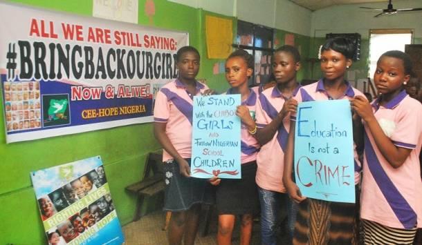 Chibok girls: Makoko children join in commemoration