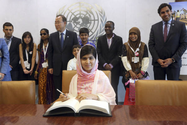Pakistan court gives life sentences to men who attacked Malala Yousafzai