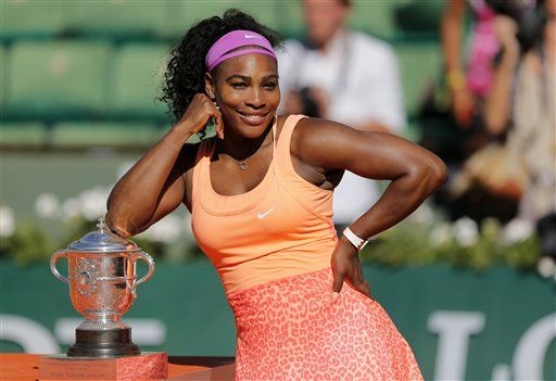 Serena Williams beats Lucie Safarova in 3 sets in French Open final for 20th Grand Slam title