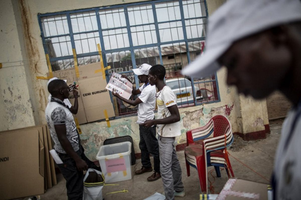 African NGOs demand Burundi delay July 15 poll