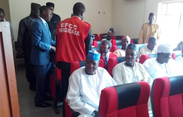 Corruption charge: ex- Gov Sule Lamido, sons remanded in prison