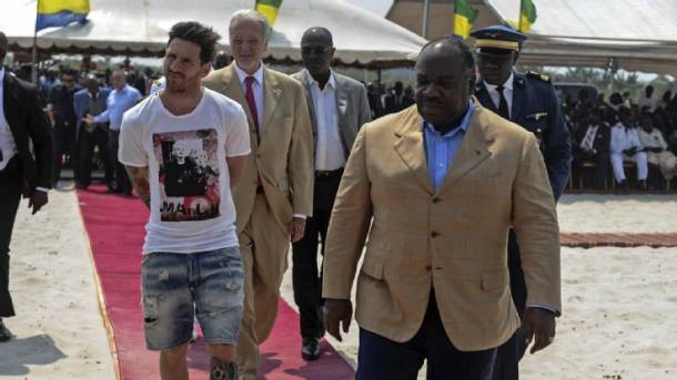 Human Rights Foundation hits out at Lionel Messi over Gabon trip