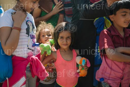 UNICEF Executive Director Anthony Lake speaks on the child migrant and refugee crisis in Europe