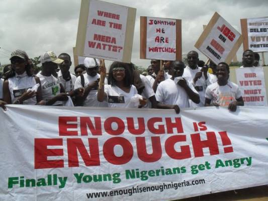Why the Nigerian youth must suffer