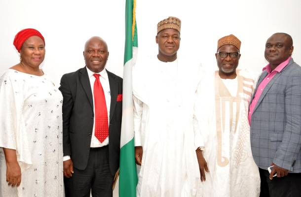 Dogara receives delegation from African Bar Association, says only new laws can address rising global unrest‎