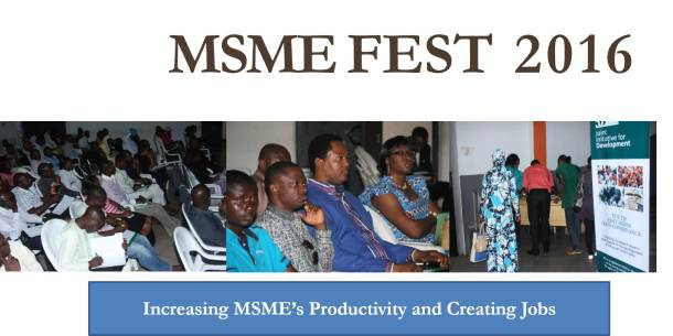 Attend the 2016 Micro, Small and Medium-scale Enterprises Fest in Lagos