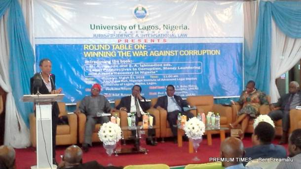 A crooked studentship and the clap for corruption