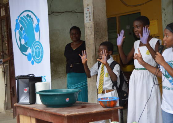 Adadevoh NGO and Unilever partner to reach more than 3,000 students on improved hygiene
