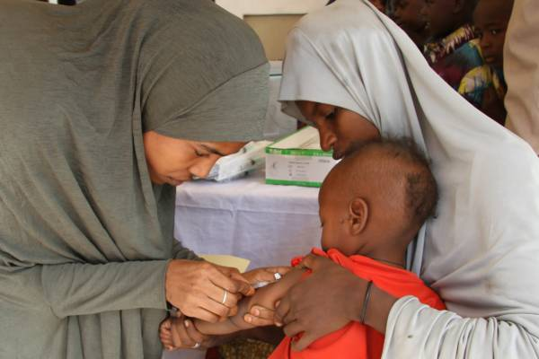 4.7 million children in vaccination campaign against measles in northeast Nigeria