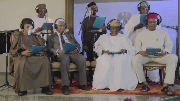 Hymn of peace by Nigerian leaders strikes some as off key