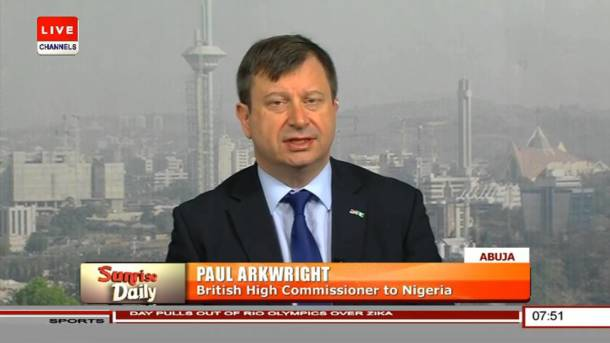 Re: 'Biafrans should forget about breaking up because we will never allow it' – Paul Arkwright, UK Ambassador to Nigeria