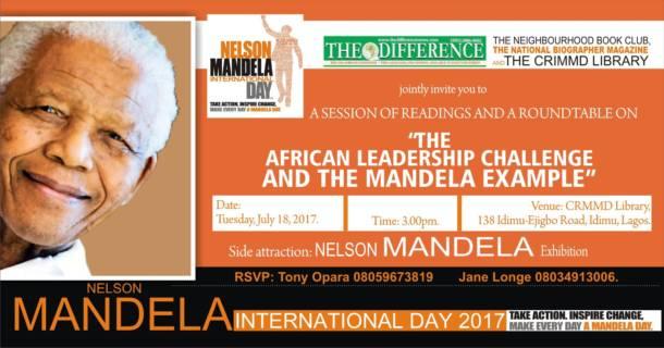 Mandela Day to be marked in Lagos, Nigeria