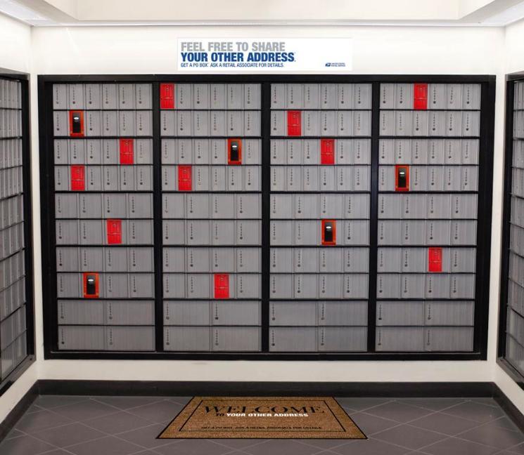 Post Office Box Po Box Sizes Box Information Center