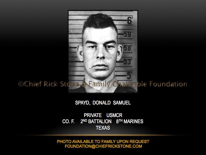 Spayd, Donald Samuel