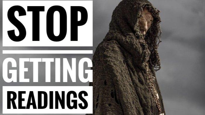 Stop Getting Psychic Readings. Chief Yuya