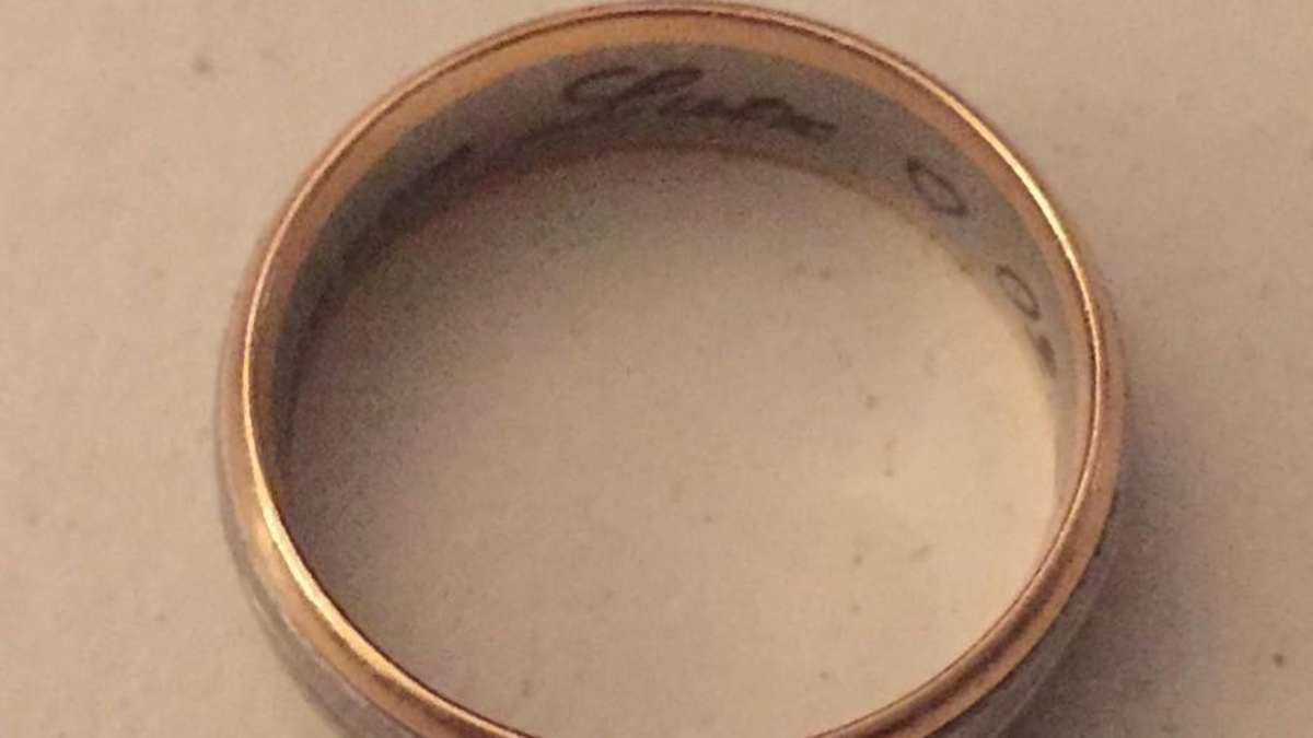 Ehering von Lutz Frau in VillingenSchwenningen gefunden