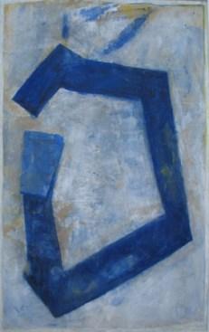 Liesbeth Wohrizek, ohne Titel, 2010, Gouache auf Papier, 155 x 100 cm