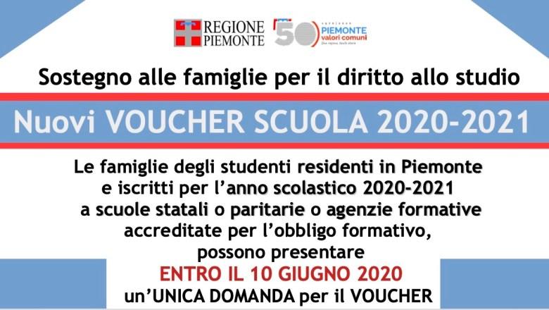 Coronavirus / Voucher scuola 2020-2021