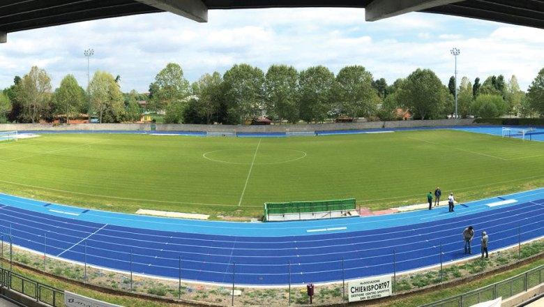 Stadio De Paoli – Centro sportivo San Silvestro – CHIERI  Inaugurazione della nuova pista di atletica