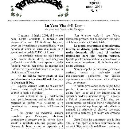 N. 8 | Anno 2001