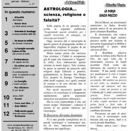N. 27 | Anno 2005