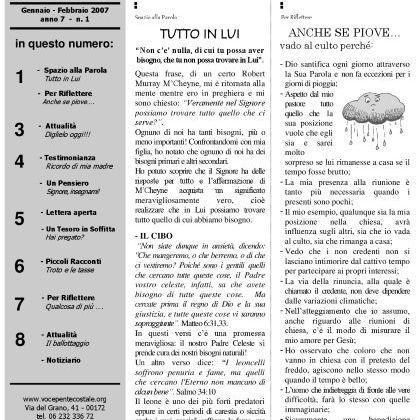 N. 39 | Anno 2007