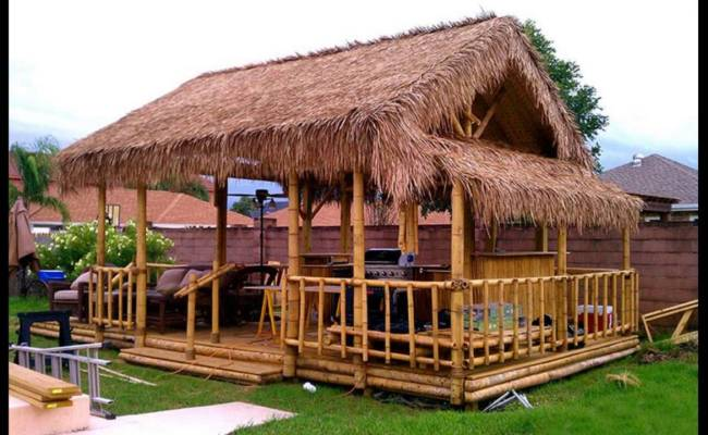Bamboo House Idea Simple Bamboo House Design Best Home