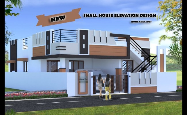 30 Beautiful Small House Front Elevation Design 2019