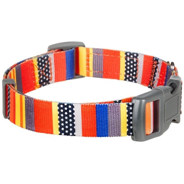Blueberry Pet Dog Collar Nautical Flags Inspired Designer