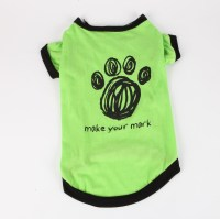 Commoditier Green Paw Summer Dog Outfit Dresses for Dogs