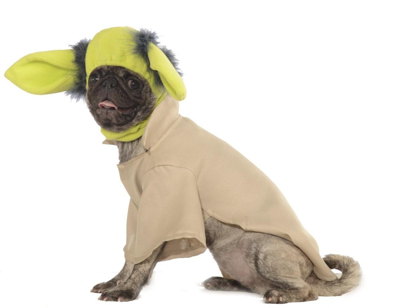 Star Wars Yoda Halloween Dog Costume