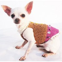 Vintage Classic Dog Harness Fancy Bling