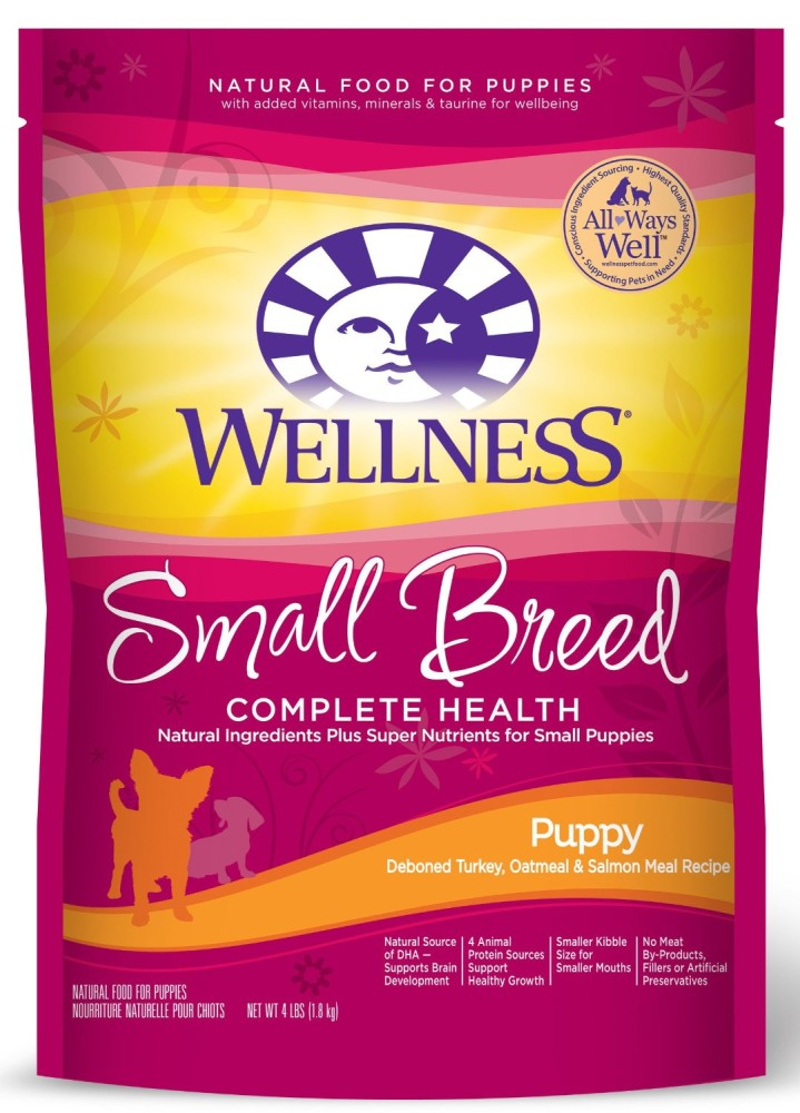 Wellness Complete Health Natural Dry Dog Food Small Breed