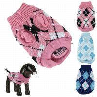 Iuneed Winter Warm Pet Dog Sweater Knitting Crochet Clothes