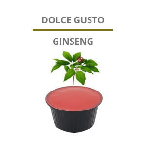 Capsule Dolce Gusto ginseng
