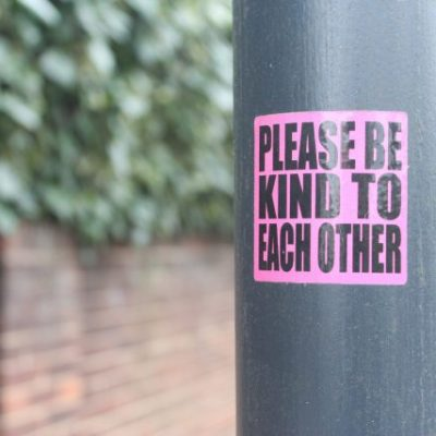 Please Be Kind Sign