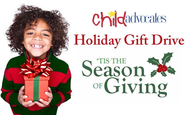 Child Advocates 2015 Holiday Gift Drive Child Advocates