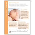 Facts About Colostrum Tear Pad Childbirth Graphics
