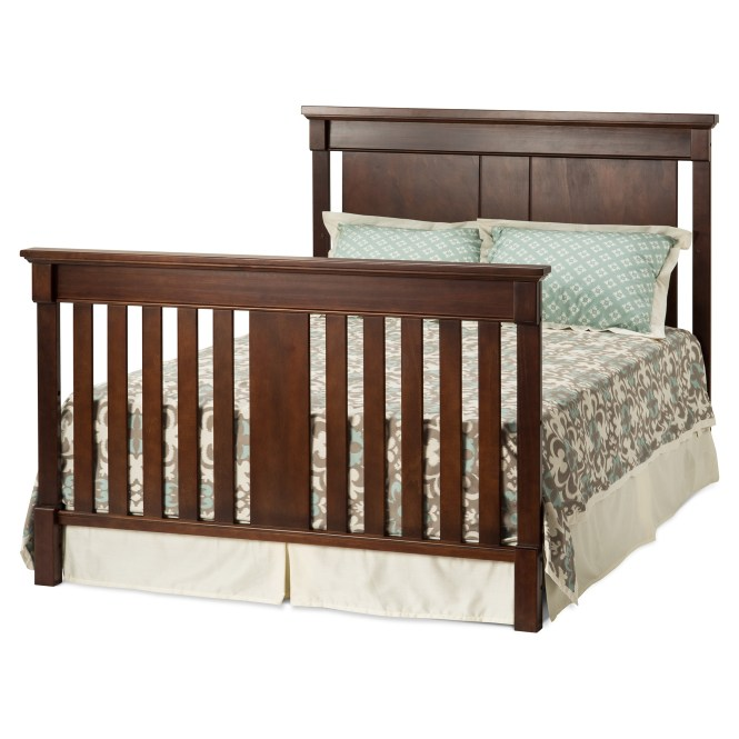 Bradford Full Size Convertible Bed Select Cherry